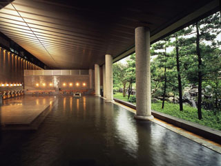 ホテル花水木 ゆったりくつろげる大浴場