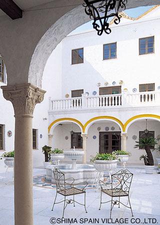 ホテル志摩スペイン村 施設の隅々までスペインを想わす