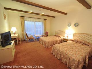 ホテル志摩スペイン村 スペインを想わすくつろぎの空間