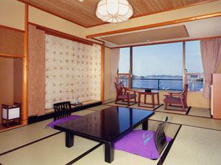 鳥羽シーサイドホテル 最も海に近い山甲亭(客室一例)