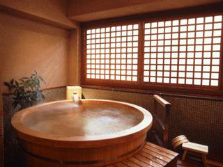 鳥羽シーサイドホテル 自家源泉を使用した貸切家族風呂「五島の湯」45分2100円
