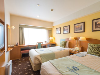 ホテルボストンプラザ草津びわ湖 全室LAN回線&Wi-Fi完備