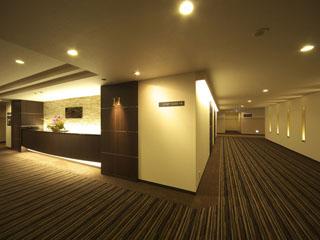 長浜ロイヤルホテル 2010年新設 グランデフロアは10F・11F