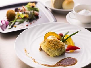 アランヴェールホテル京都 レストラン Piatto ランチ1