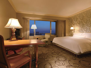 ウェスティンホテル大阪 全客室が41平米以上と広々空間