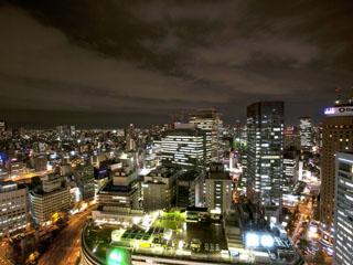 ホテルグランヴィア大阪 グランヴィアフロアからの眺望