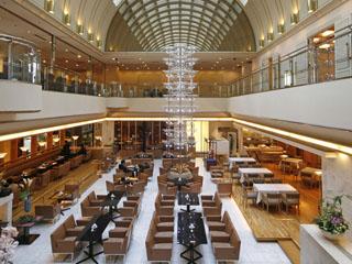 ホテルグランヴィア大阪 ホテルレストランフロア ラウンジ「リバーヘッド」