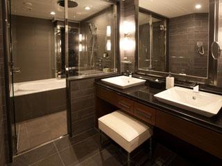 ホテルグランヴィア大阪 グランヴィアフロア バスルーム一例