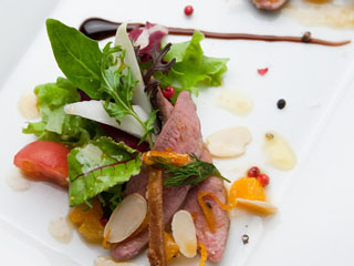 ホテルニューオータニ大阪 レストランは和洋中など10店舗がそろうので、大阪の味、旬の食材が楽しめる