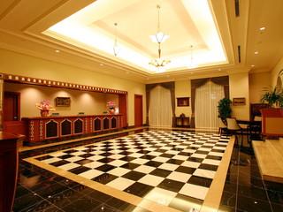 ホテルモントレ ラ・スール大阪 旅の始まりを期待させるモダンで洗練されたエントランス