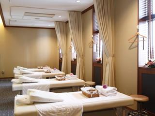 ホテルモントレ ラ・スール大阪 ボディケアルームではお疲れの箇所を癒します