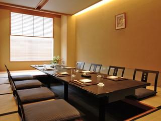ホテルモントレ ラ・スール大阪 5名様以上で掘りごたつ式の個室もご用意しております。