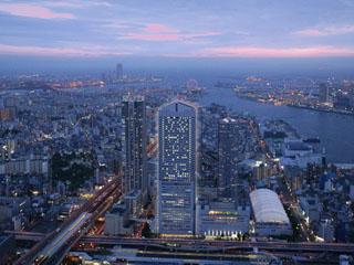 ホテル大阪ベイタワー 駅直結の好立地。夜景のきれいなホテル