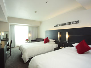 ホテル日航大阪 「Luxury and LOHAS」をコンセプトに、快適性と機能性に優れた客室