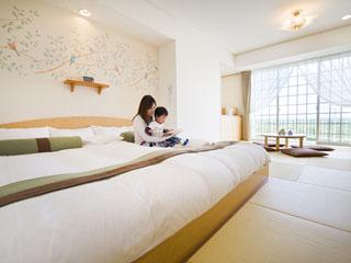 ホテルグリーンプラザ東条湖 赤ちゃん連れファミリーには「赤ちゃんプランプレミアム」