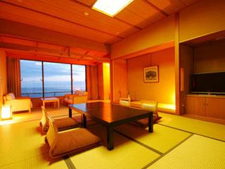 ホテル金波楼 全室オーシャンビューの岬の館(和室)