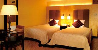 神戸ポートピアホテル 「癒しの空間」ヒーリングルーム。身体にも地球にもやさしい内装やアメニティを装備
