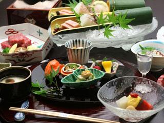 有馬温泉 兵衛向陽閣 兵庫有馬ならではの旬の食材をふんだんに使った伝統の味