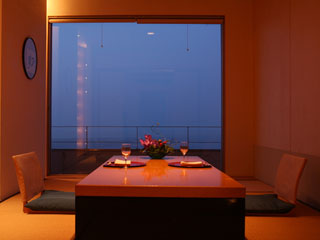 夢海游淡路島 新鮮な海の幸を落ち着いた雰囲気の個室料亭でゆったりとお楽しみ頂けます