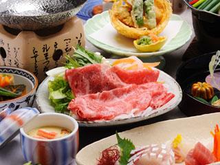 有馬御苑 国産黒毛和牛のしゃぶしゃぶが好評の季節の会席料理のイメージです