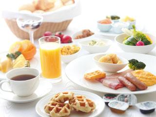 ホテル日航奈良 和洋バイキング朝食