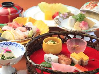 白浜古賀の井リゾート&スパ 四季折々の紀州の味などを吟味した和食会席