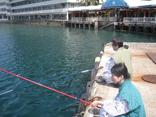 ホテル浦島 釣りセットの貸出しも致しております