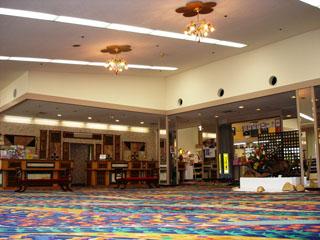 白浜シーサイドホテル フロントロビー
