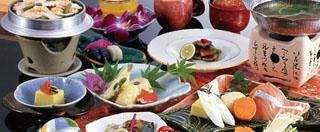 白浜館 紀州の食材を中心とした海の幸・山の幸が味わえる和会席