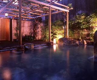 白浜館 24時間いつでも入浴できる、美肌効果の高い天然温泉