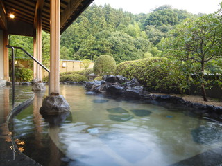 佳翠苑皆美 9階展望風呂は玉造温泉で一番高い場所にあります