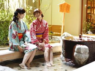 佳翠苑皆美 美顔入浴では玉造温泉の源泉をお楽しみいただけます