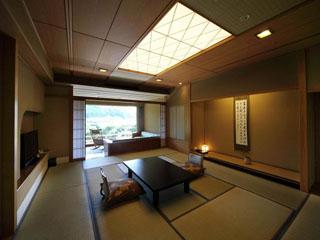 大谷山荘 和を基調に自然と調和したお部屋