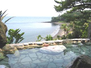 指宿いわさきホテル 露天風呂