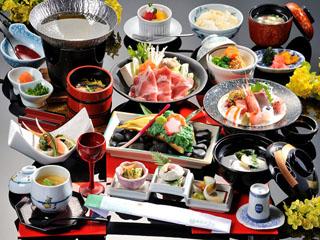 霧島ホテル 春のお料理イメージ