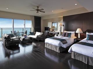 カフーリゾートフチャク コンド・ホテル 平均70平米のゆとりあるコンドミニアムの客室
