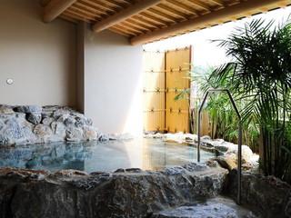 グランヴィリオリゾート石垣島 グランヴィリオガーデン サウナ、岩盤浴、露天風呂併設の大浴場は宿泊者無料