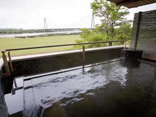 十勝川温泉第一ホテル 大浴場展望露天風呂