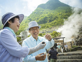 ホテルグリーンプラザ強羅 大涌谷や箱根小涌園ユネッサンなど、箱根観光に便利な立地です
