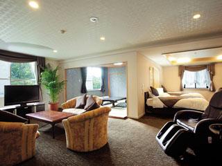 ホテルグリーンプラザ強羅 和室・洋室・和洋室・特別室からお部屋タイプが選べます※写真は2室限定の特別室