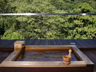くつろぎの宿 静観荘 客室「紫苑」の露天風呂