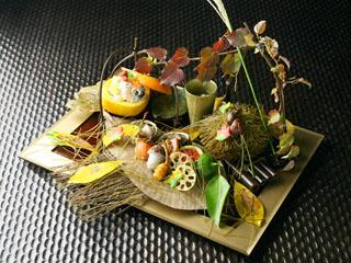彌榮館 毎月変わる夕食メニューは一品一品手作りにこだわります