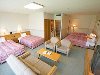ヤマハリゾート つま恋 一室52.3平米でゆったりしているホテル・ノースウィング客室