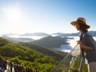 星野リゾート トマム ザ・タワー 雲海テラス1