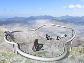 星野リゾート リゾナーレ トマム 雲海鑑賞スポットCloud Pool(2017年7月中旬誕生予定)