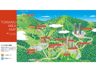 星野リゾート トマム ザ・タワー トマムエリアマップ