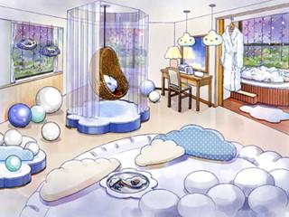 星野リゾート リゾナーレ トマム 雲スイートルーム イラスト