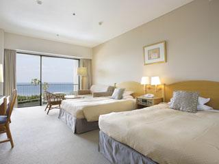 伊豆今井浜東急リゾート 伊豆の海を一望できるオーシャンフロントルーム