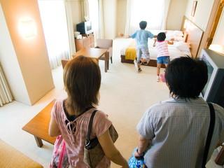 シャトレーゼガトーキングダムサッポロホテル&スパリゾート 洋室・和室・和洋室など、様々な客室タイプあり