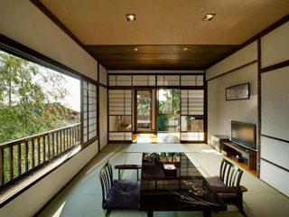 料理の宿 伊豆のうみ 部屋中に充満する新鮮な空気と暖かい光
